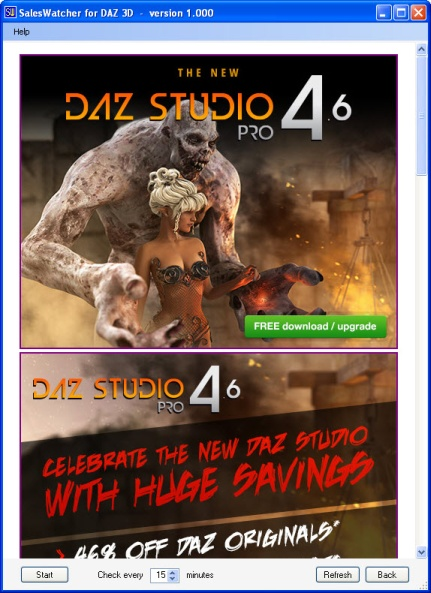 Store Tools for DAZ 3D, RDNA, and Renderosity